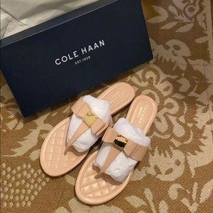 BRAND NEW Cole Haan Tali Bow Sandals